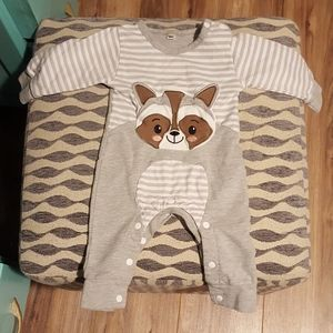 Raccoon Children's Onesie